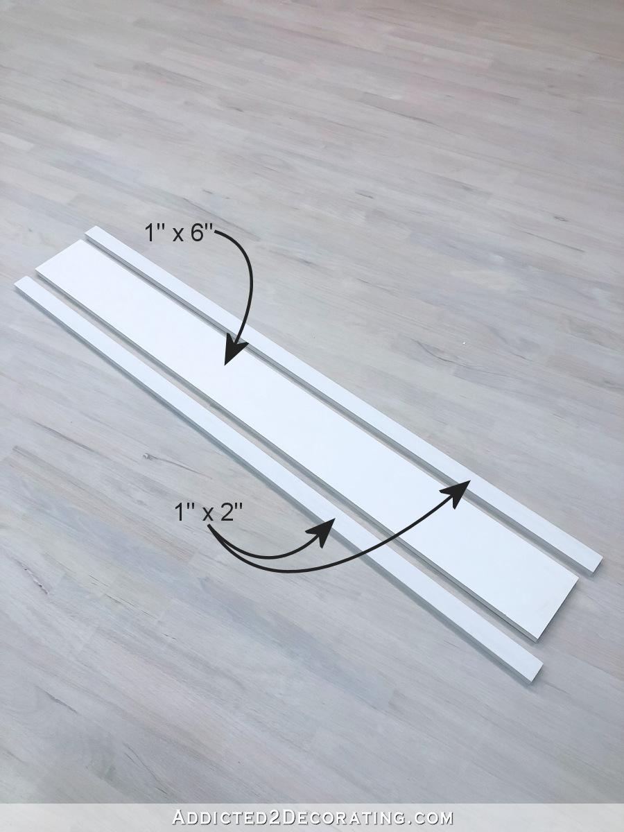 Garniture de fenêtre élégante mais facile - créez un en-tête décoratif supérieur sur 1