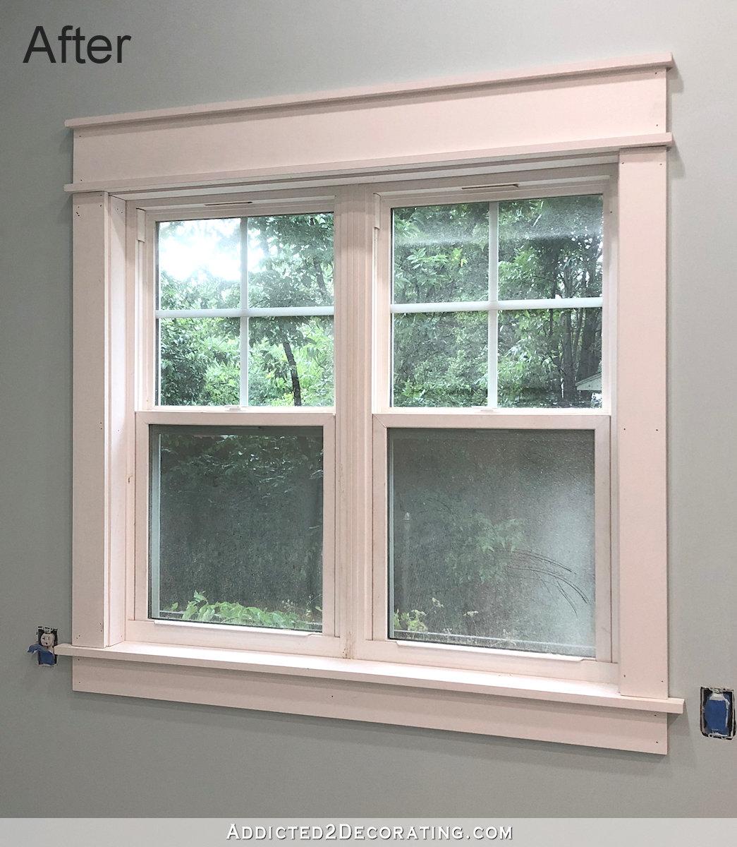 Comment installer des encadrements de fenêtre faciles à construire (sans coupes d'onglet!)