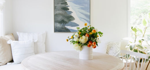 quick summer decor updates for our breakfast nook from serena and lily on coco kelley