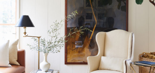 mark d sikes marin county living room styling