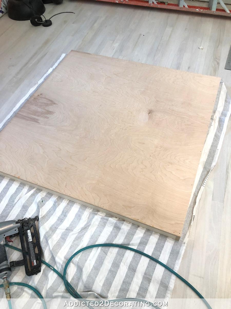 comment construire une grande table craft - 8 - tablette du bas