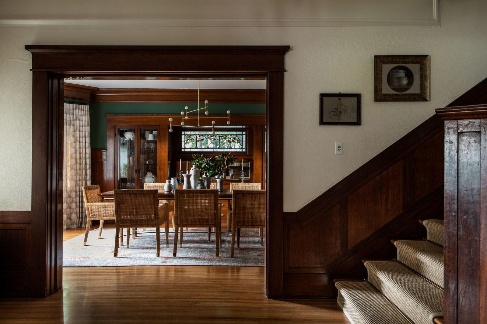 entrée classique | visite de maison d'artisan historique moderne jacey duprie