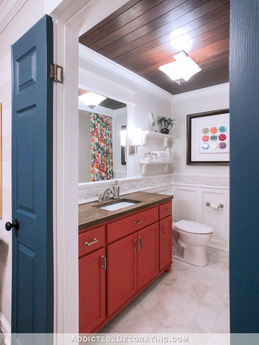 métamorphose colorée de la salle de bain - 10