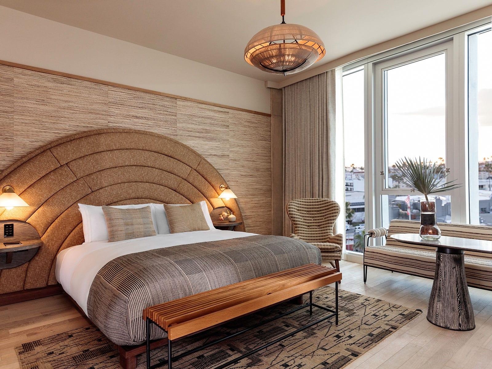 Santa Monica bon hôtel par Kelly Wearstler | wanderlust design coco kelley