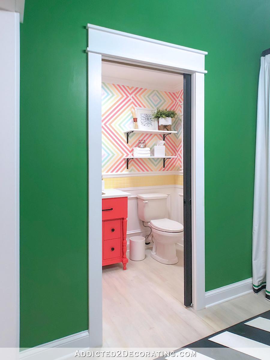 studio fini, demi-salle de bain - 12