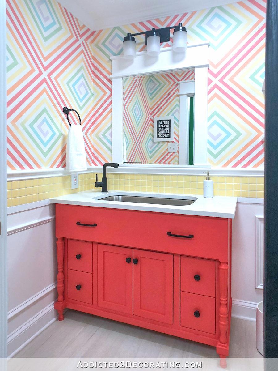 studio fini, moitié salle de bain - 2