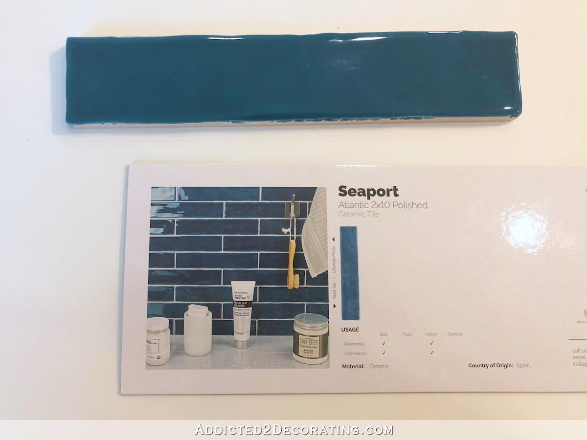 sarcelle pour le remodelage de la salle de bain principale