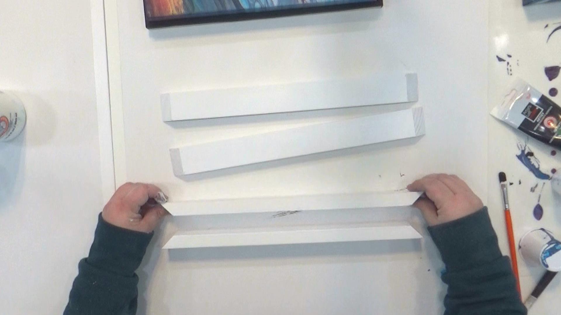 Cloud Pour - Avalanche - couper 1 x 2 bois pour la partie principale du cadre