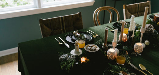 a modern winter solstice gathering