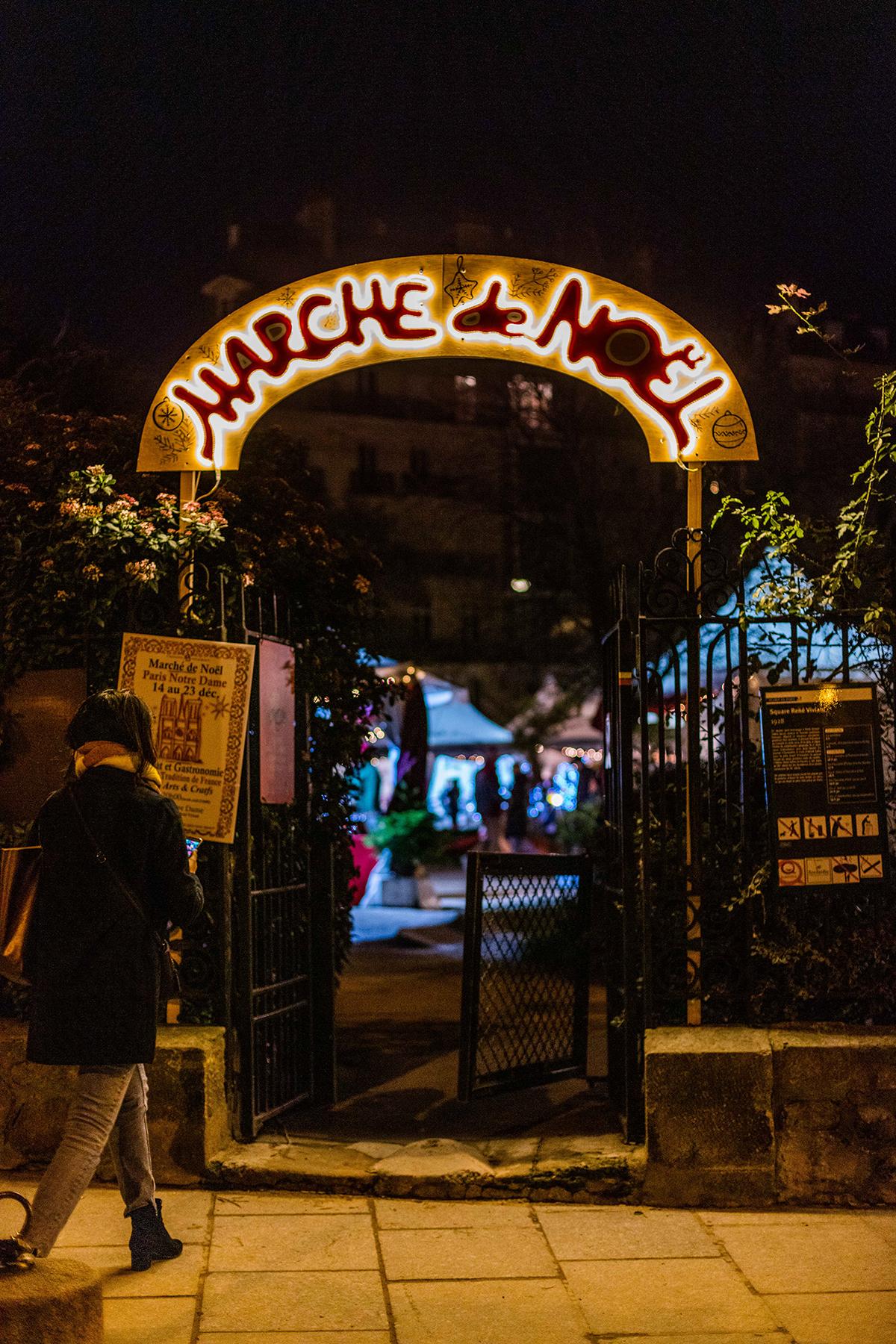 marche de noel marché de noël | des vacances d'hiver à paris