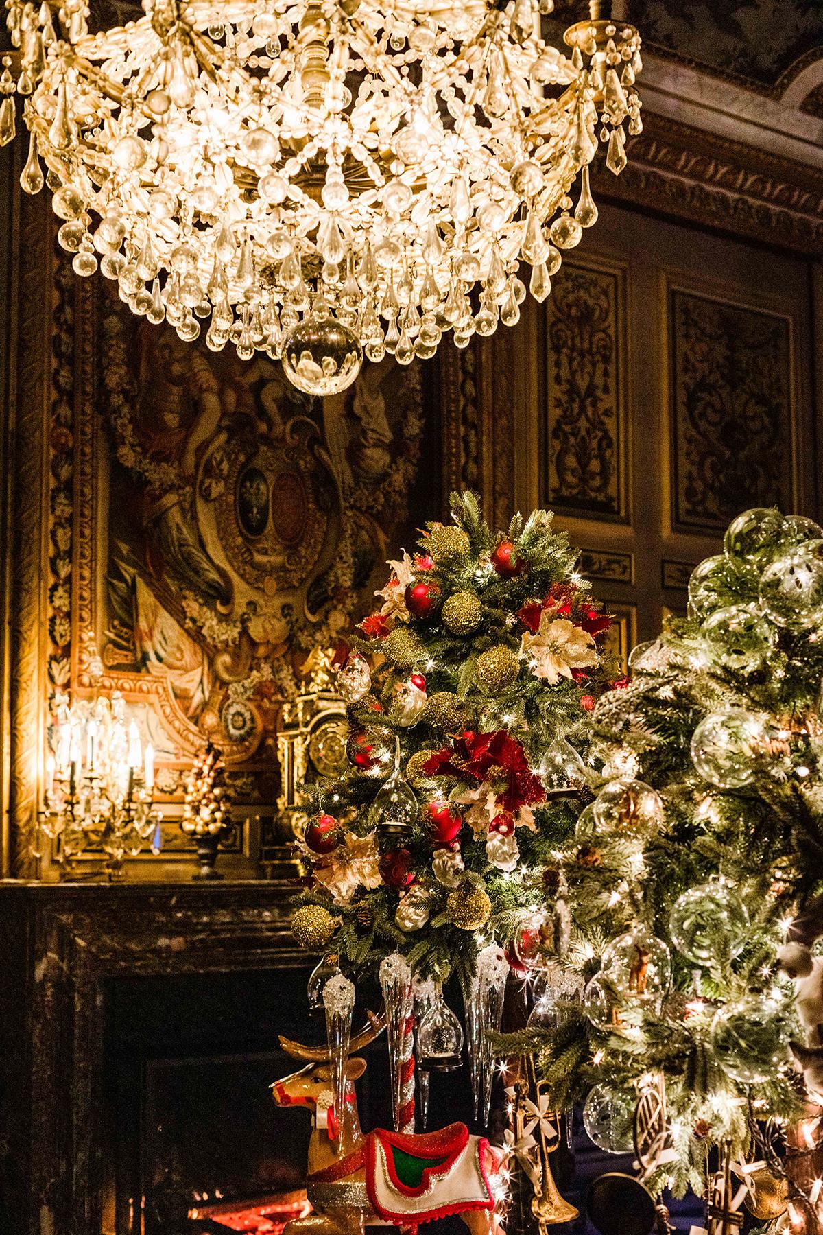 Château de Vaux le Vicomte à Noël
