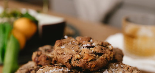 chocolate walnut cranberry cookie recipe on coco kelley