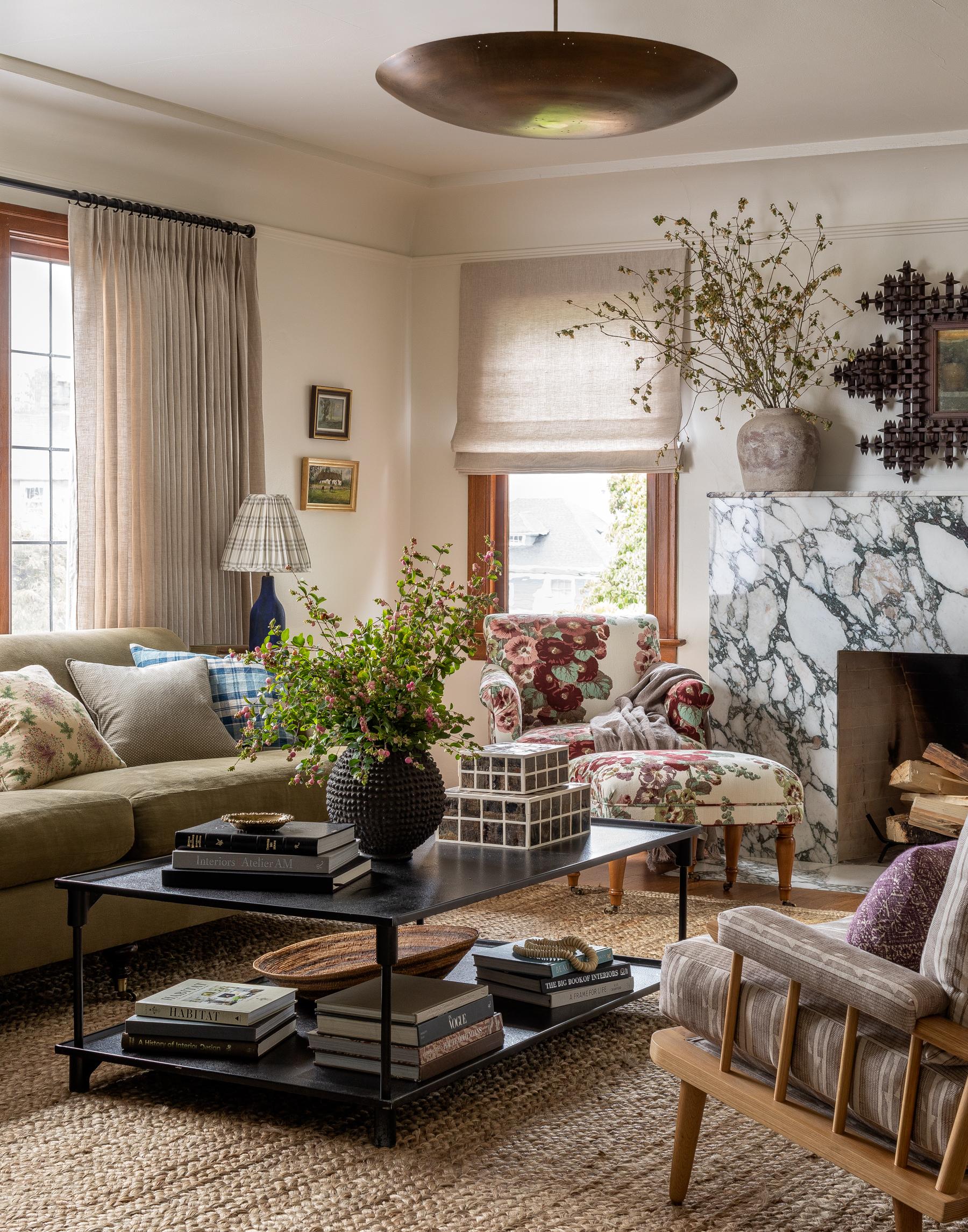 Papier Peint Style Atelier visite de la maison :: cette maison de seattle avec des