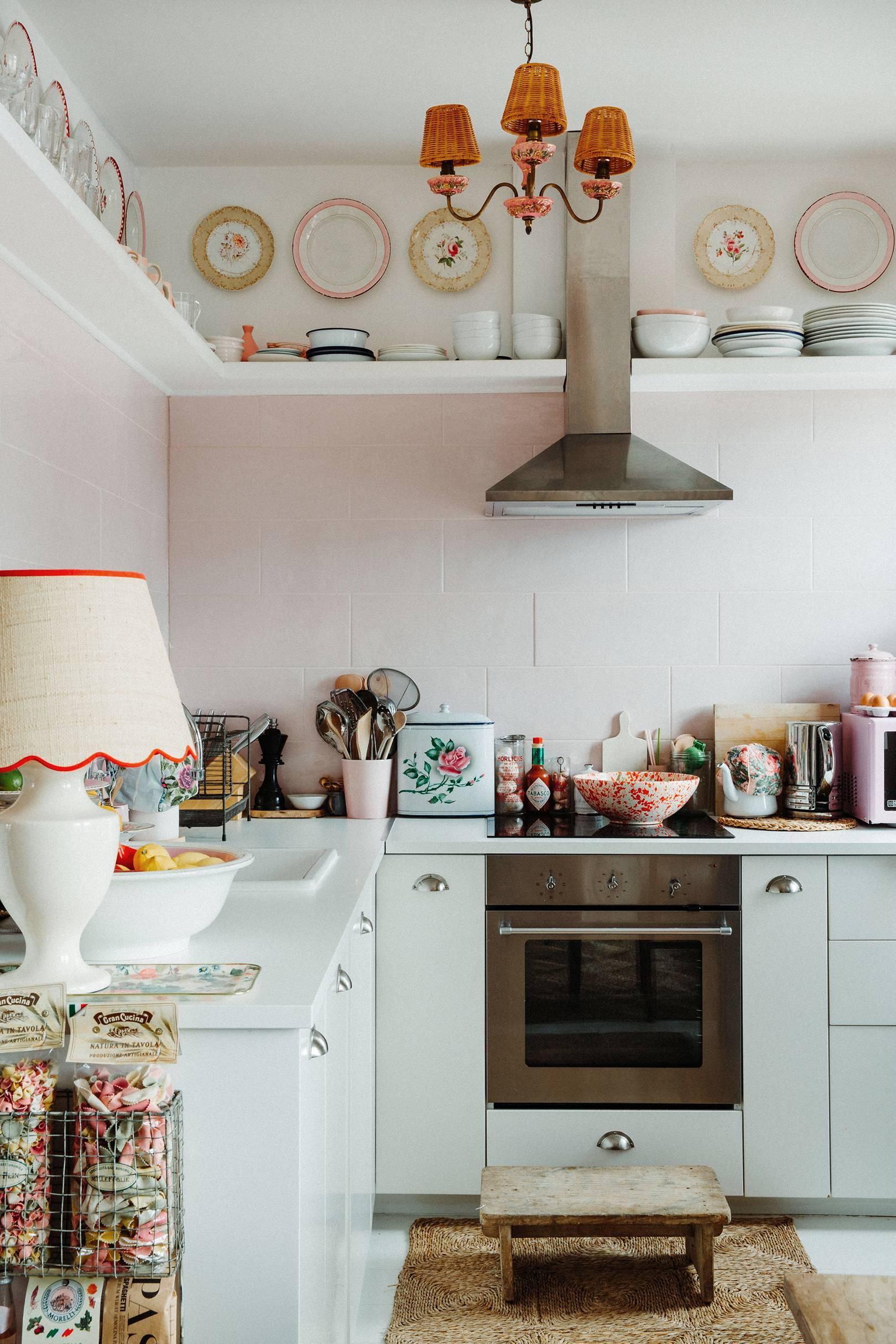vibes de cuisine chic minable | visite de la maison de la dent violette