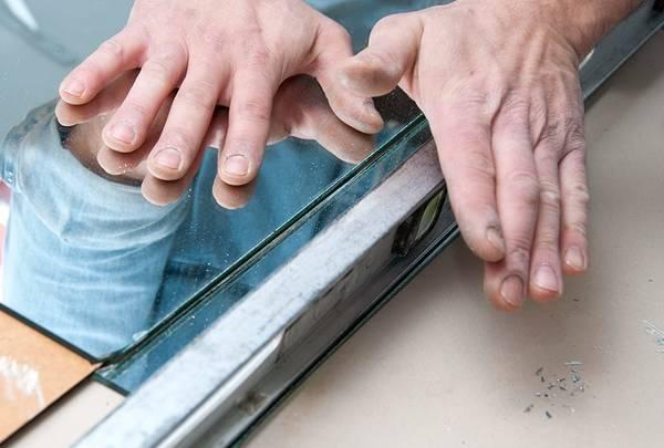 Effet granit Fantaisie Cadeau Verre trempé à découper planche